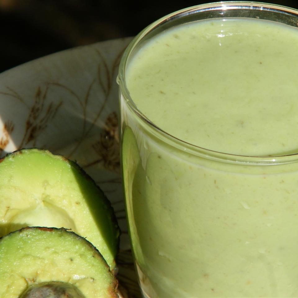 Simple Avocado Milkshake Seattle2Sydney