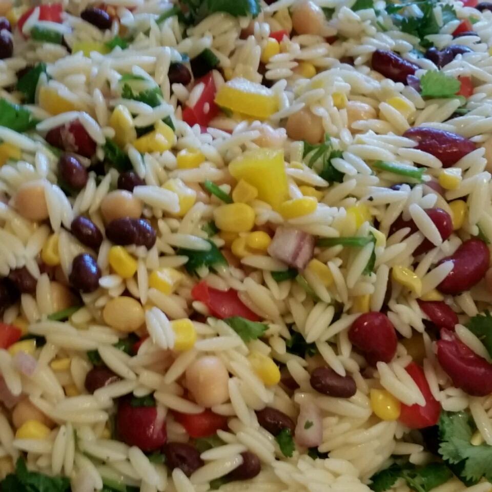 Mexican Orzo Salad gigi