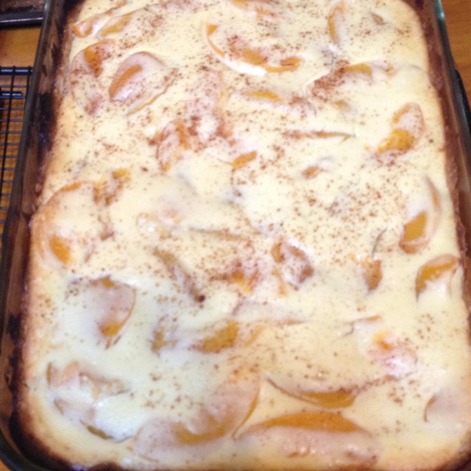 Peach and Cream Cheese Torte Donna Shirk