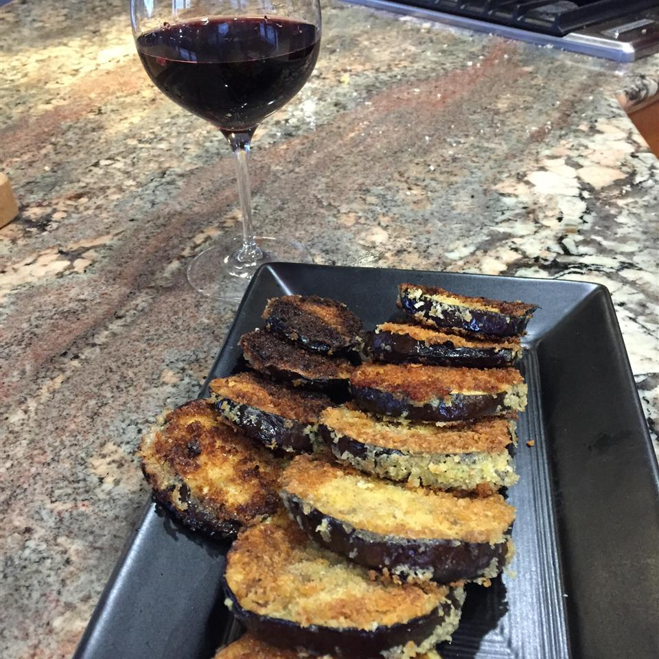 Easy Fried Eggplant