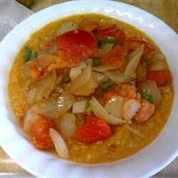 yellow dhal sweet potato soup recipe