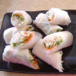 Vietnamese Salad Rolls Rosanna