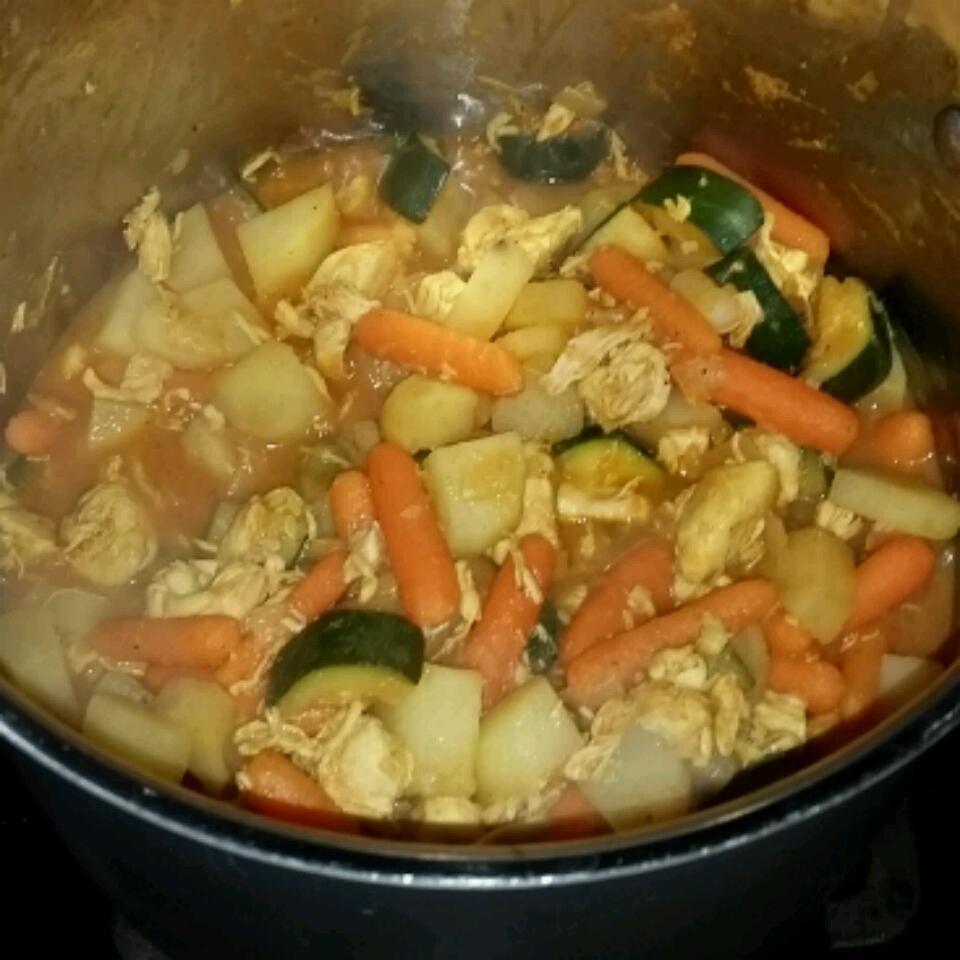 Chicken Vegetable Stew tom