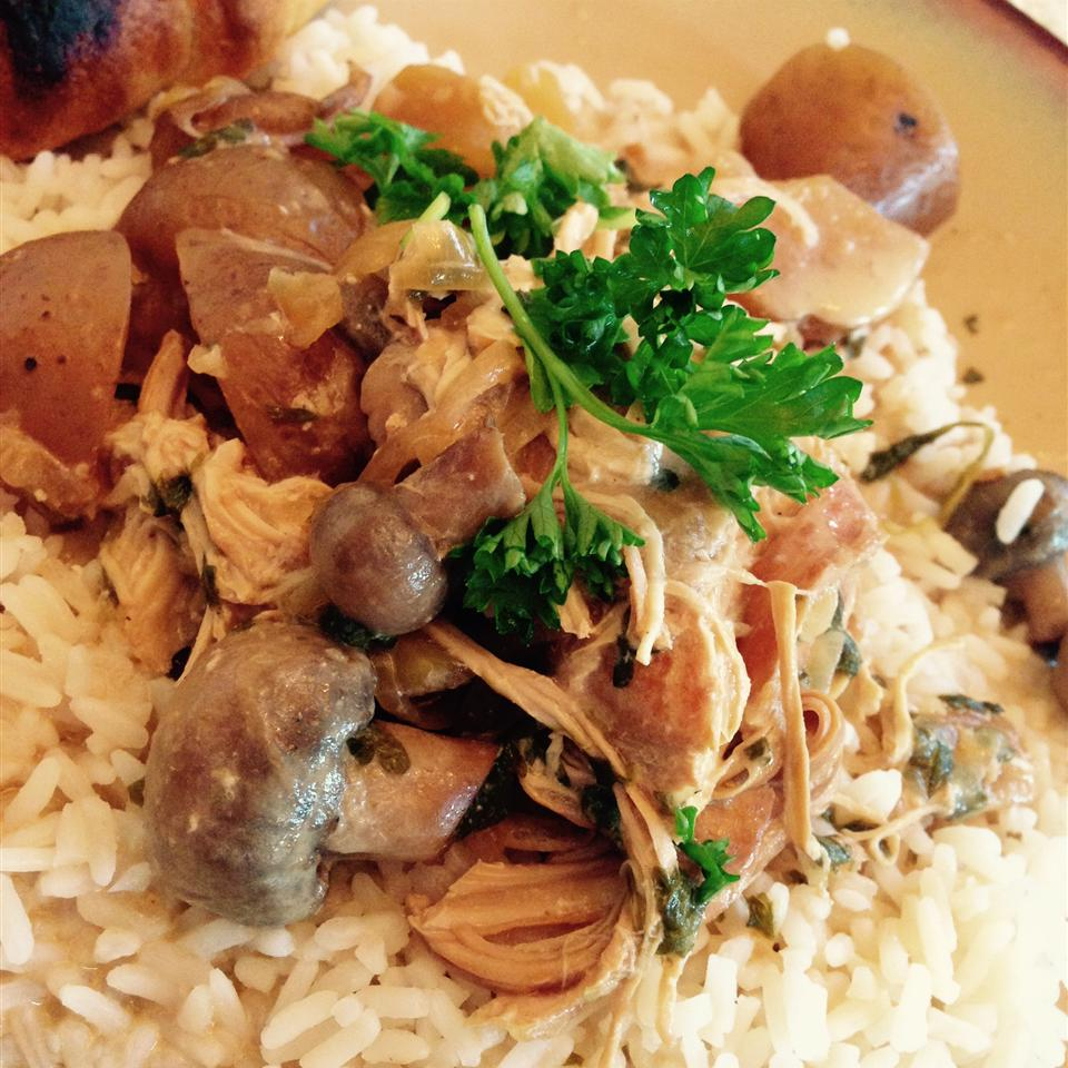 Slow Cooker Parsley Chicken
