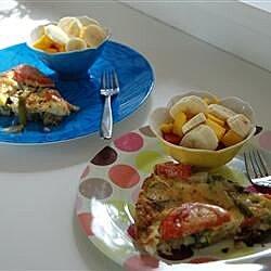 grilled poblano frittata recipe