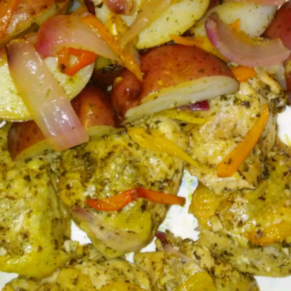 Lemony Mediterranean Chicken Angie Raudebaugh
