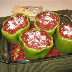 Stuffed Peppers with Creole Sauce Dave W.