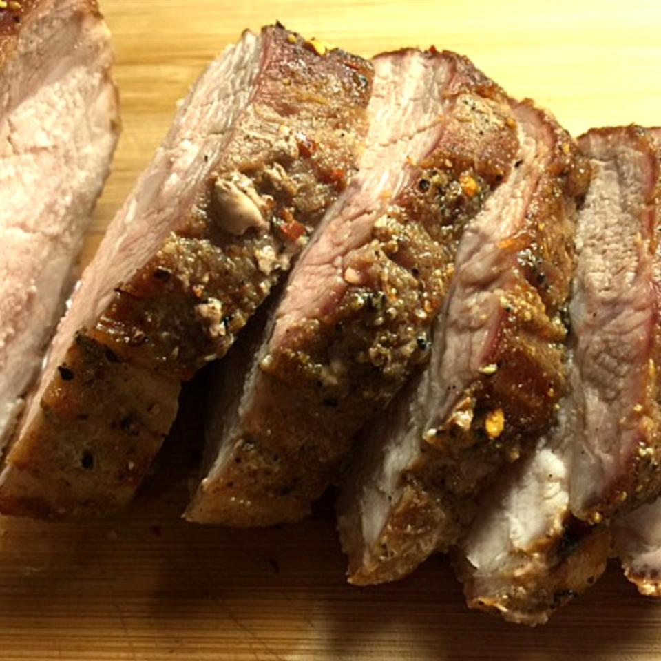 Pork Roast with the World's Best Rub