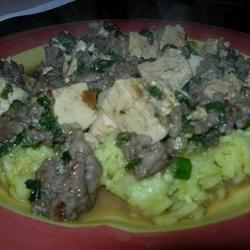 Chinese Style Ground Pork and Tofu Kriston Scott