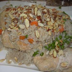 Upside Down Chicken Rice MEAUXJEAUX