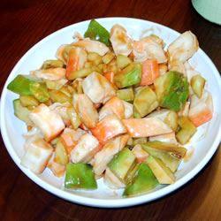 Crawfish, Crab and Shrimp Ceviche