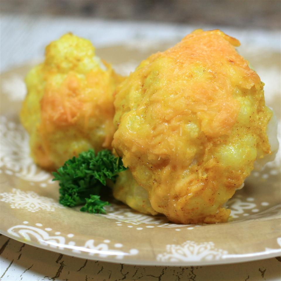 Curry and Cheese Cauliflower France C