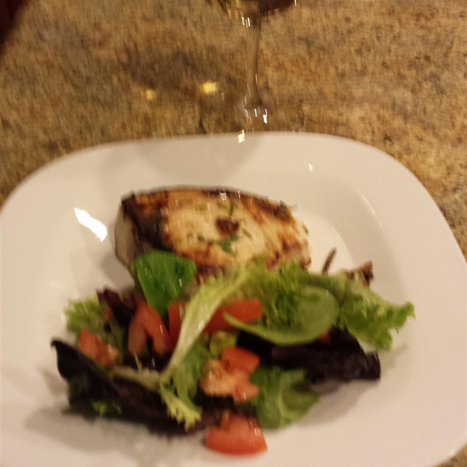 Grilled Swordfish with Rosemary Genevieve Guerrero