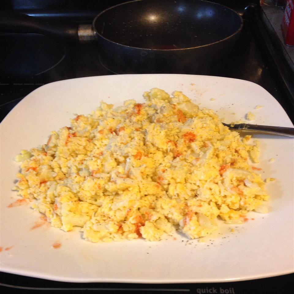 Scrambled Cauliflower - Low Carb Tonya Mcneely