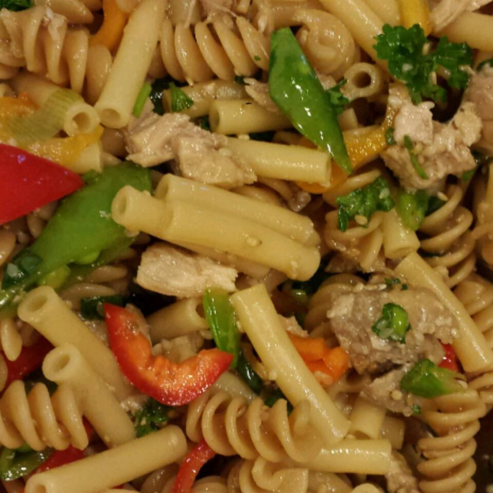 Sesame Chicken Pasta Salad Dobie Lover