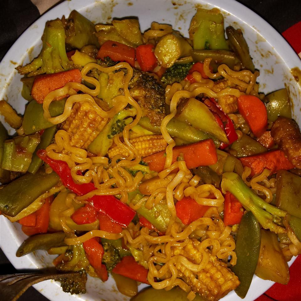 Frozen Vegetable Stir-Fry Samantha