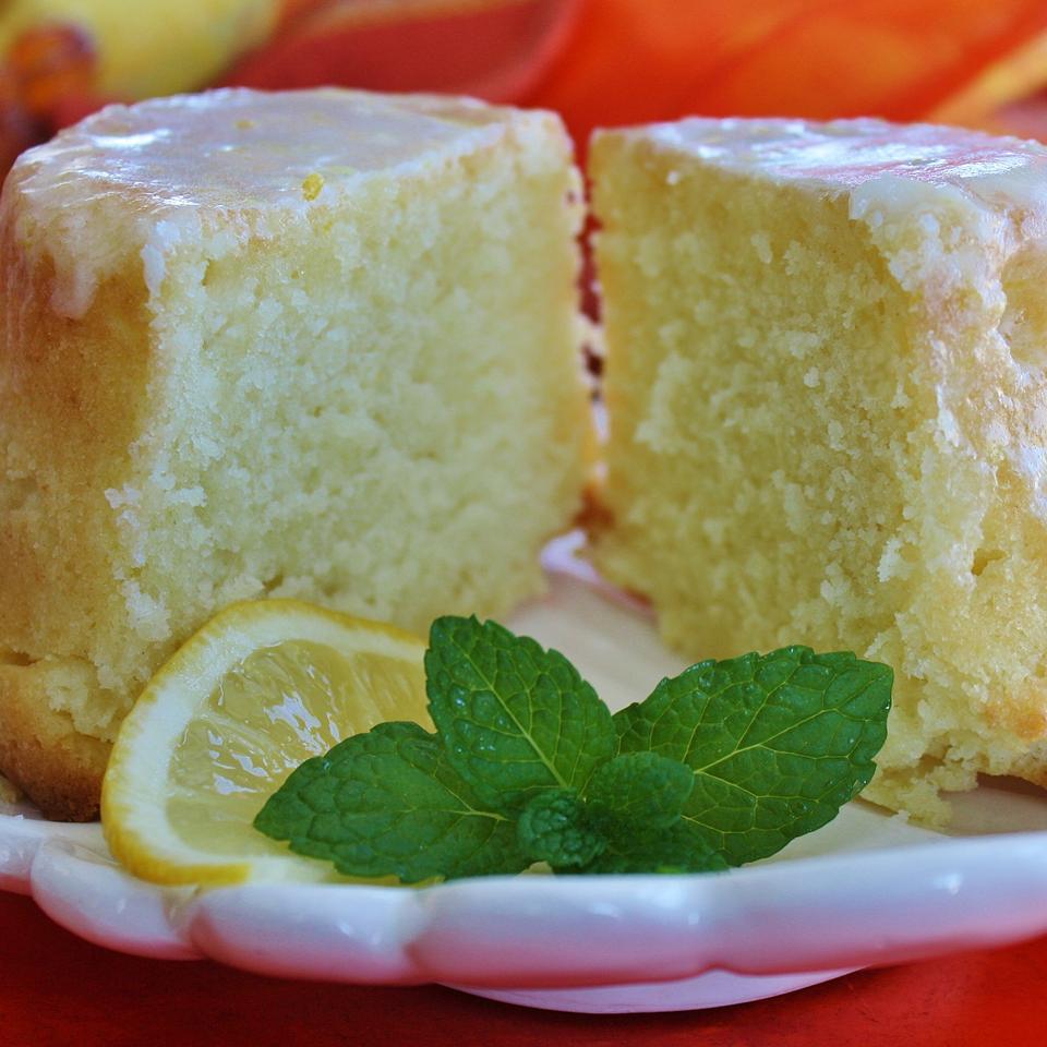 Lemon-Buttermilk Pound Cake with Aunt Evelyn's Lemon Glaze Sarah Copeland Sawicki