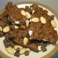 Super Easy Rocky Road Candy WannaBeChef