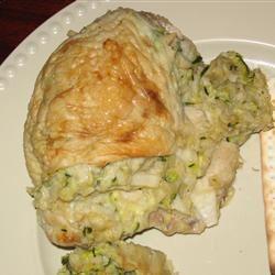 Passover Zucchini-Stuffed Chicken