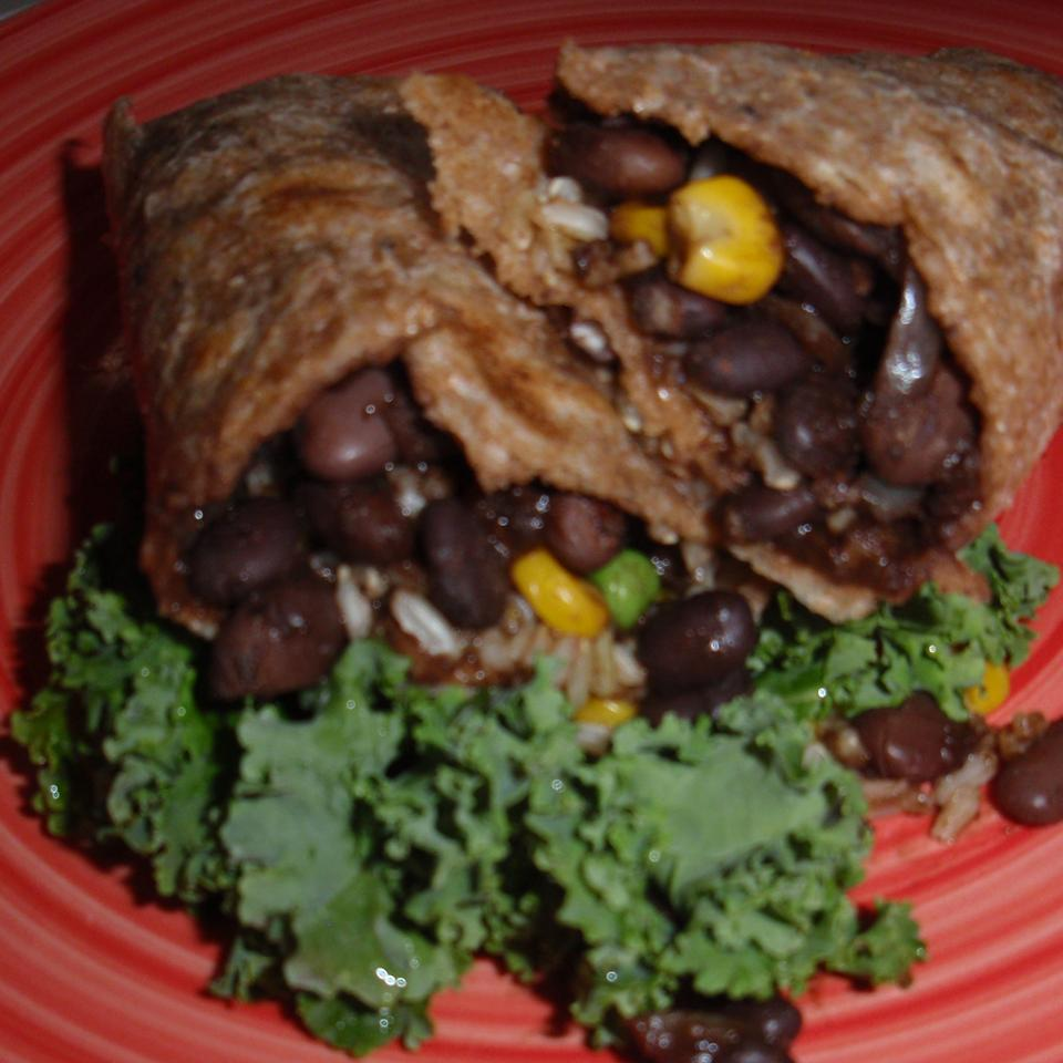Gracie's Amazing Vegetarian Burritos sueb
