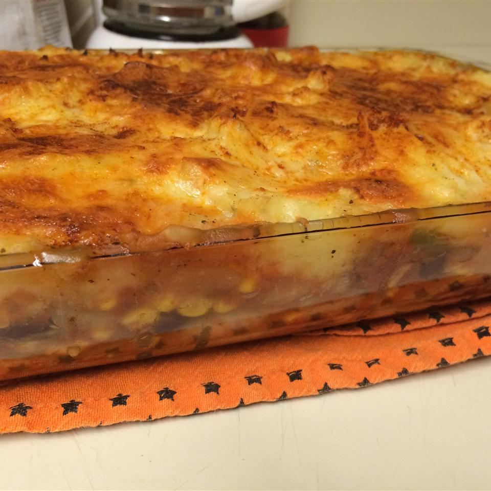 Vegetable Shepherd's Pie Joanna VonSeggern