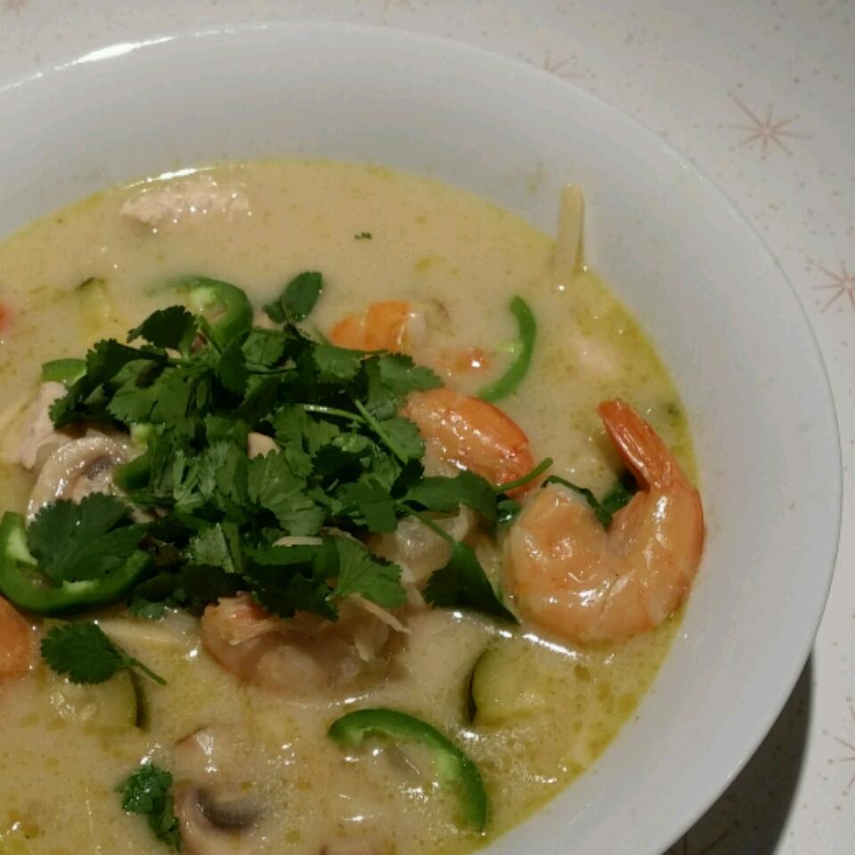 Spicy Chicken Thai Soup bobbipin