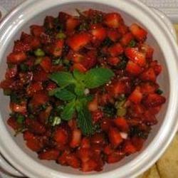 Betty Baker's Strawberry Salsa Dixie'sMom