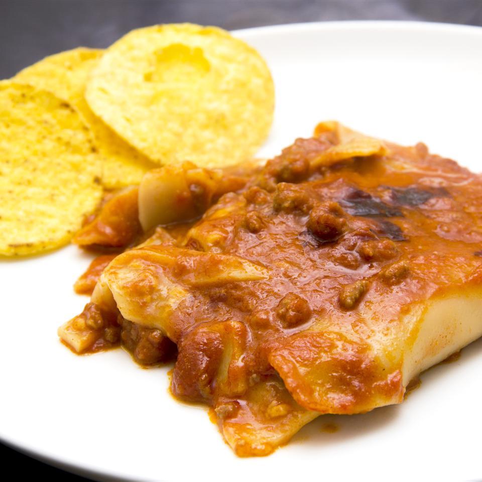 Taco Lasagna with Noodles