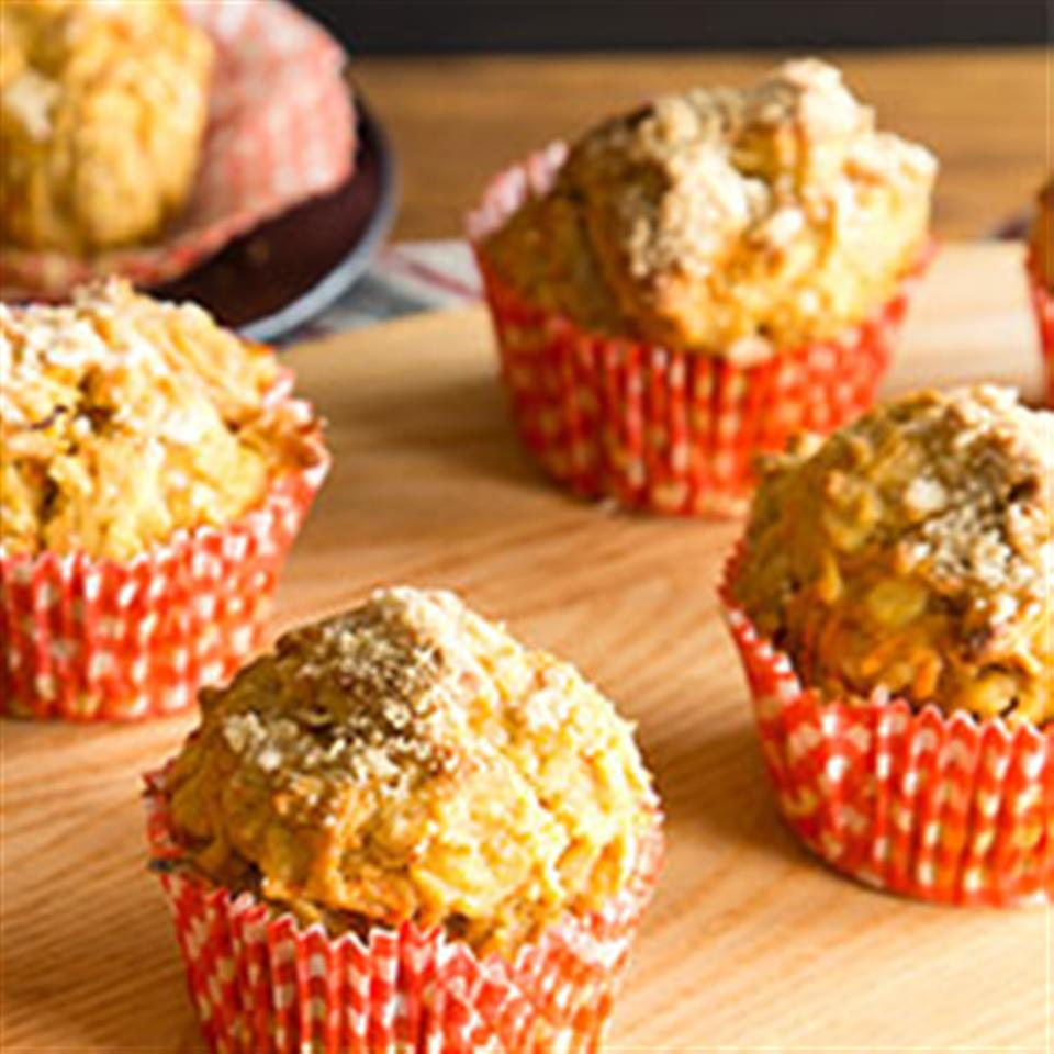 Carrot Morning Glory Muffins (Gluten Free Optional) Trusted Brands