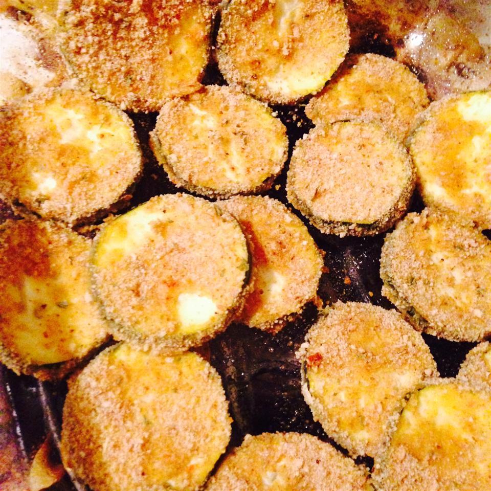 Breaded and Baked Zucchini carieann18