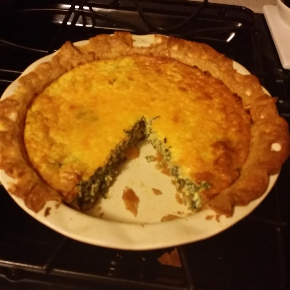 Spinach Quiche judnav