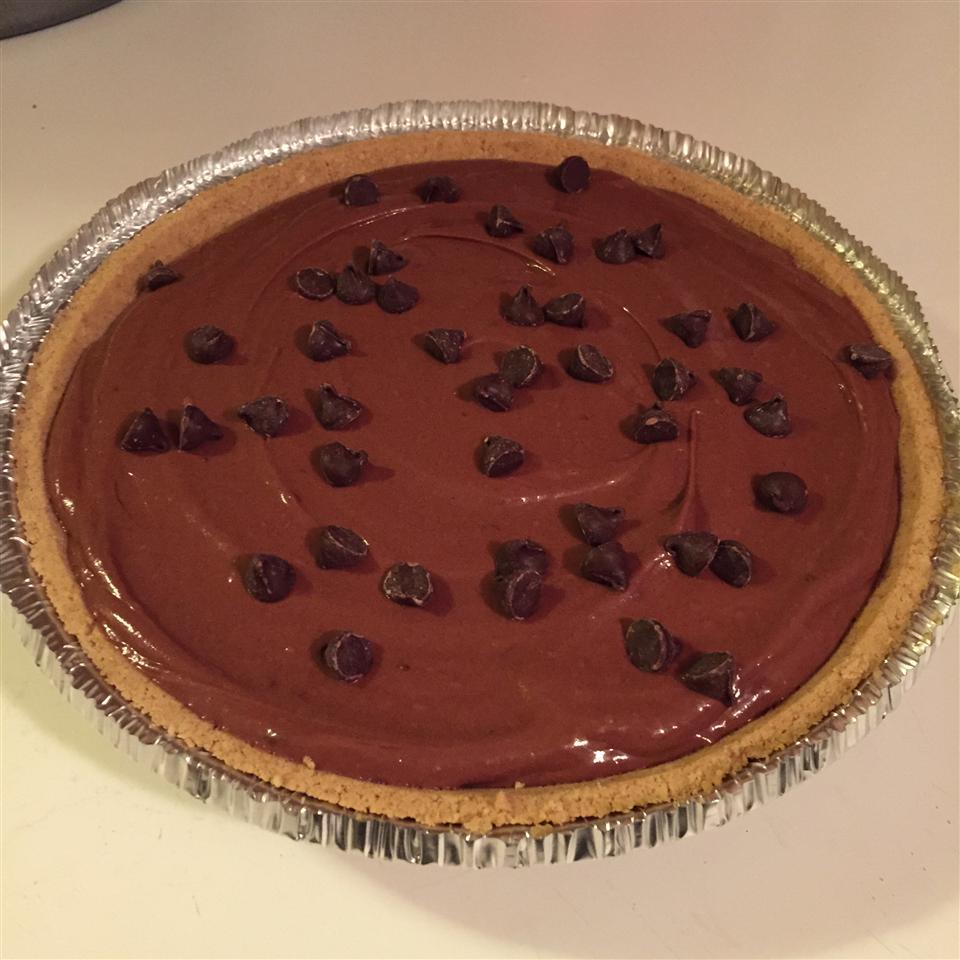 Rich Chocolate Truffle Pie Lori
