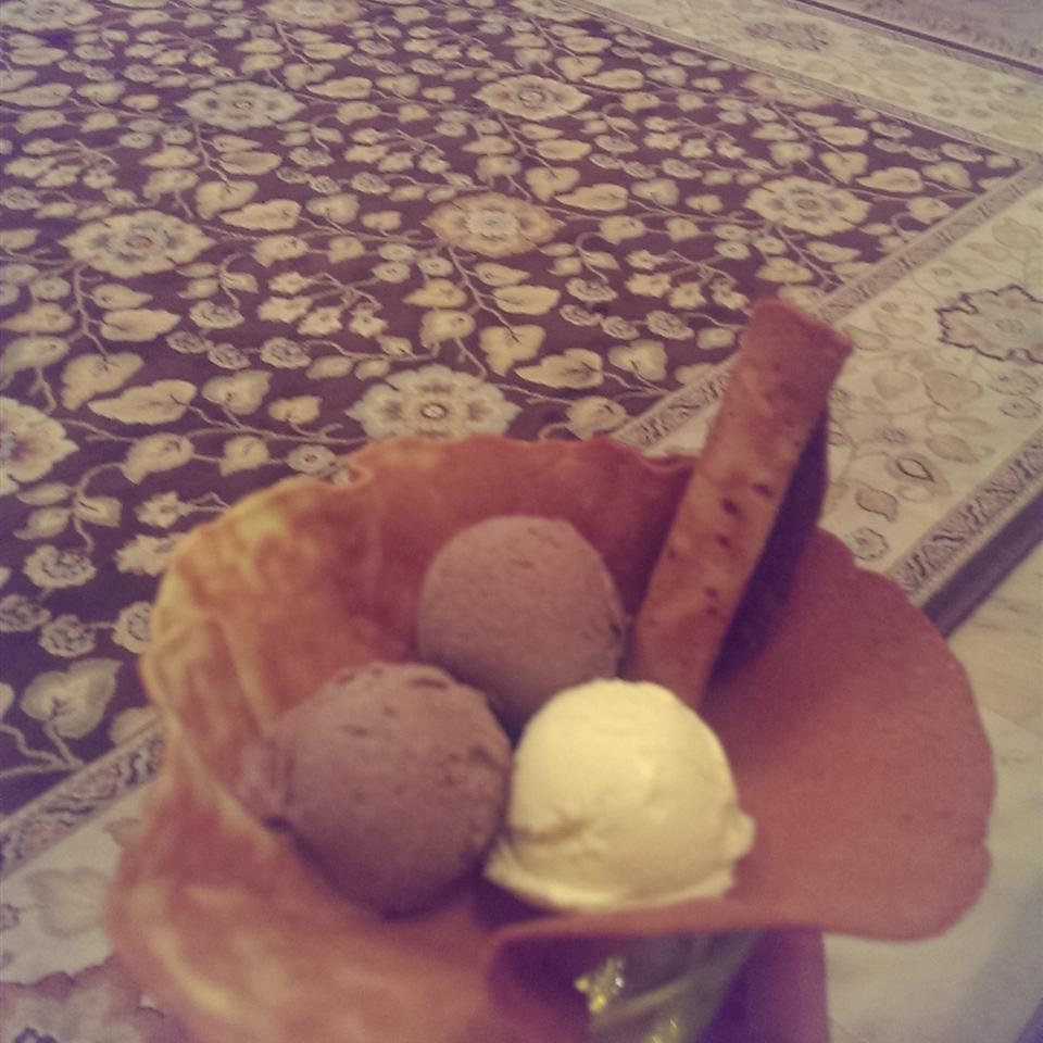 Homemade Ice Cream Cones
