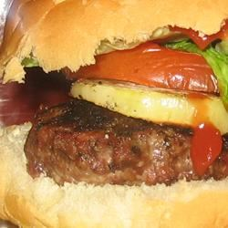 Sweet Onion Burgers Trish Beier