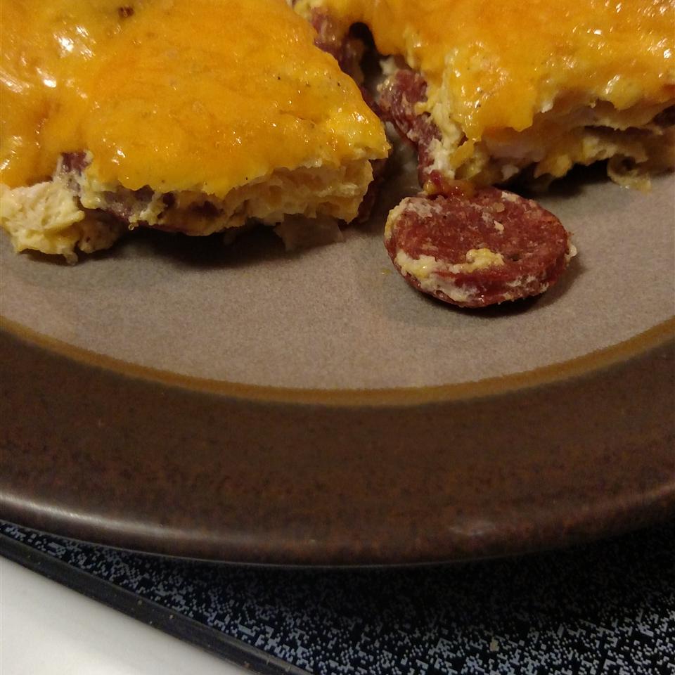 Colette's Smoked Sausage Fritatta