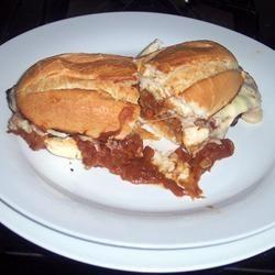 Open-Faced Hot Roast Beef Sandwich