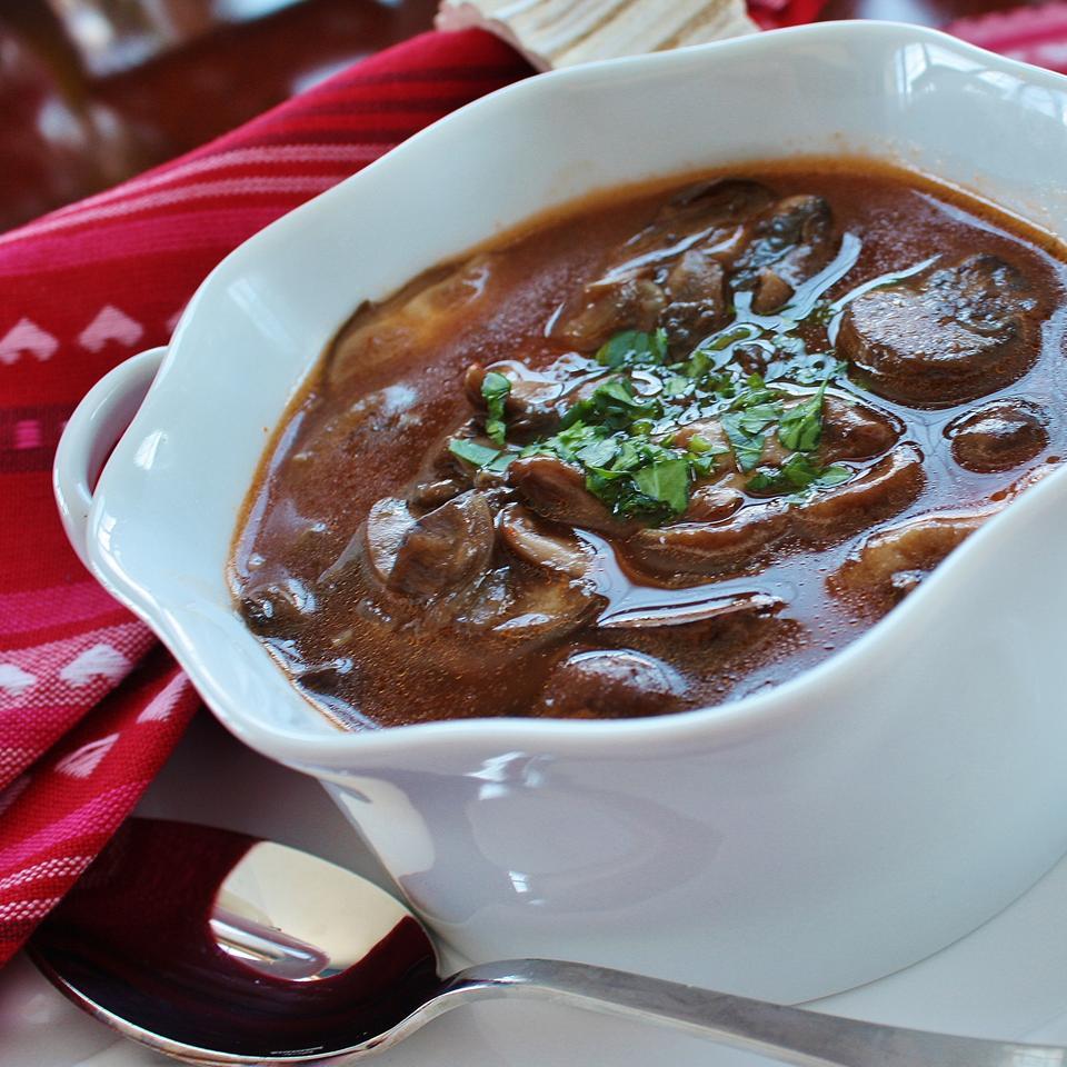 Tomato-Mushroom Soup
