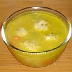 Passover Soup with Chicken Dumplings Sue Gargiulo