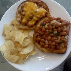 Baked Bean Sandwiches ACnucook