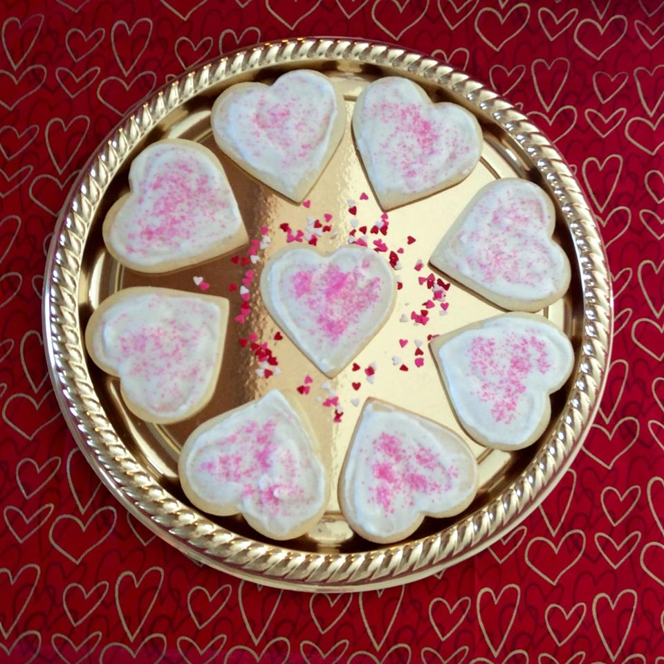 Sugar Cookies with Buttercream Frosting LanaPeach