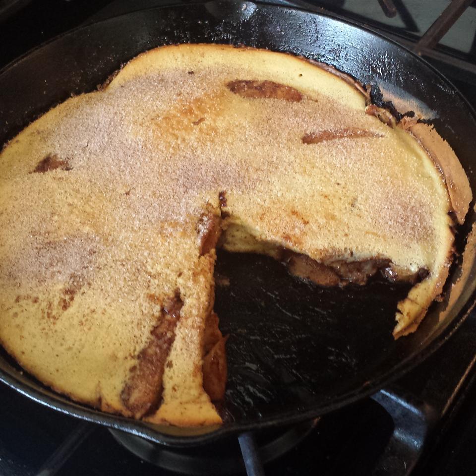 Apple Pancake Charles Burge