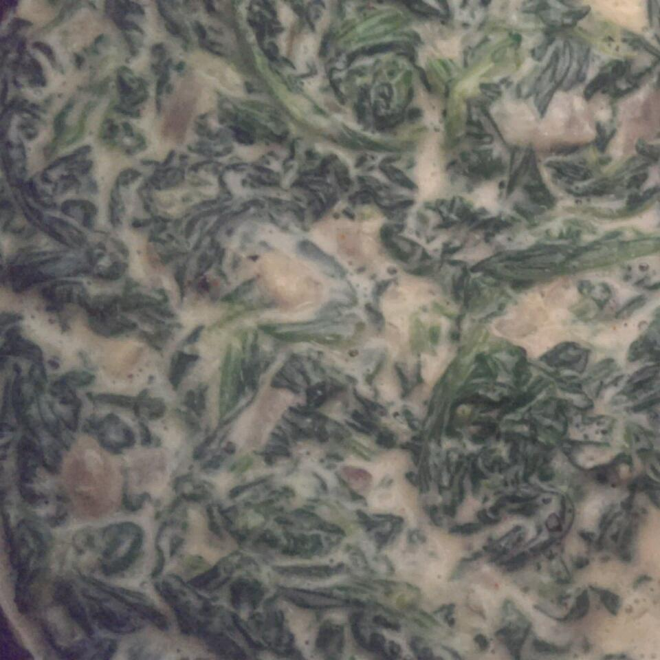 Fast and Easy Creamed Spinach