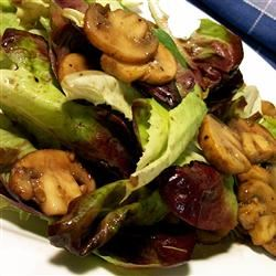 Warm Mushroom Salad SunnyByrd
