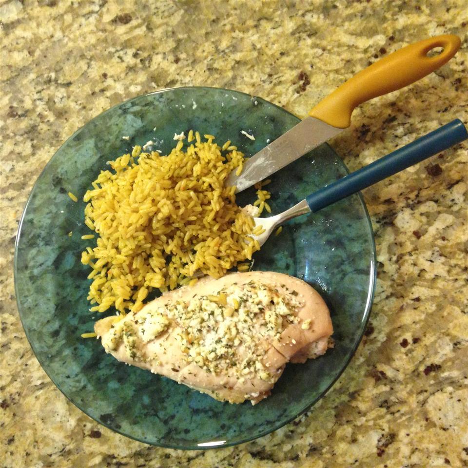 Gluten-Free Herbal Goat Cheese Chicken kindofadraag