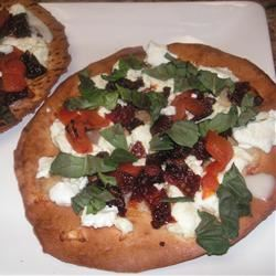 Goat Cheese Pizzas yogamari