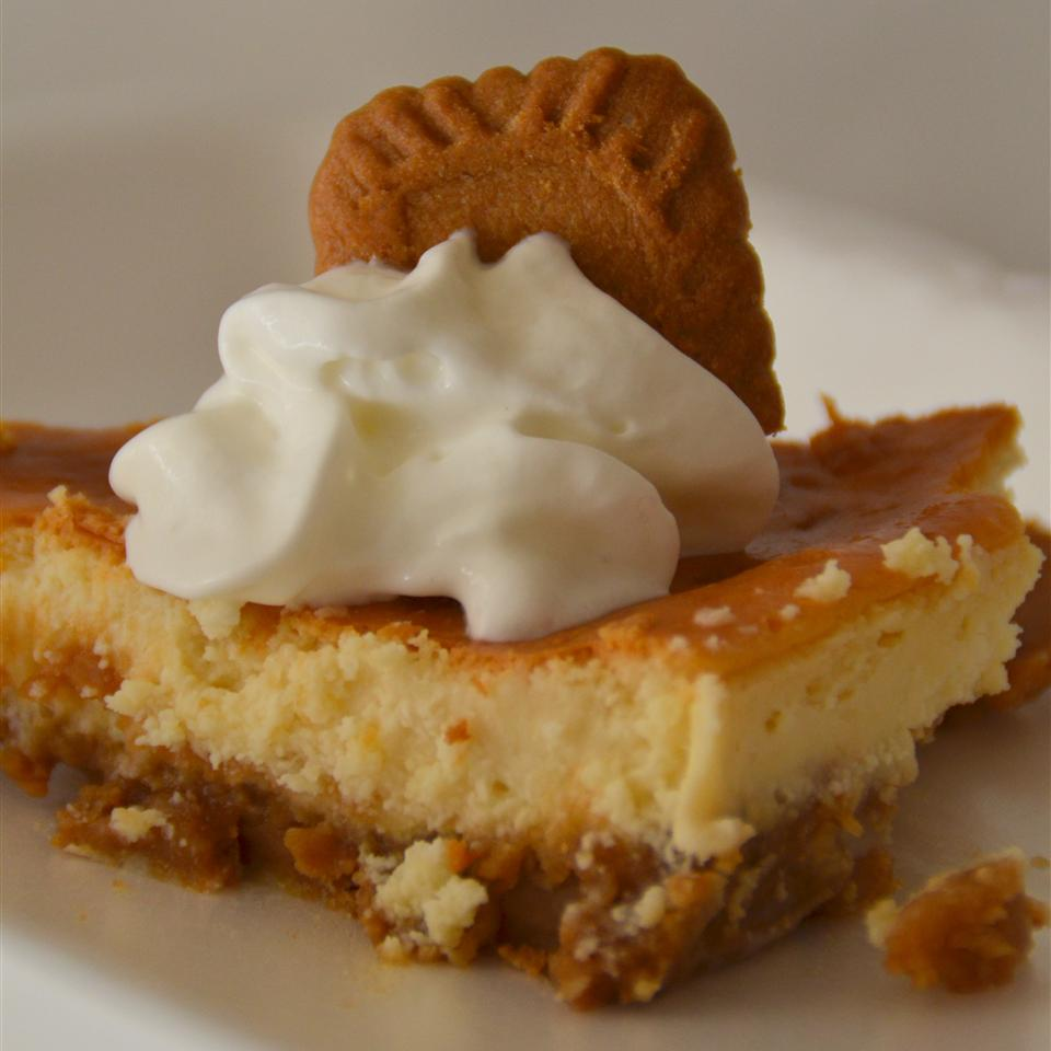 Cheesecake with Biscoff® Crust