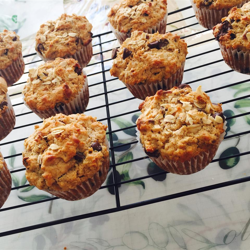 Oatmeal Chocolate Chip Muffins Miss M