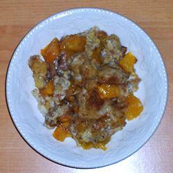 Mango Cardamom Bread Pudding Annaid