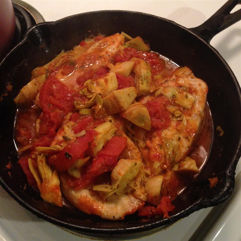 Artichoke and Sun-Dried Tomato Chicken Ciarra