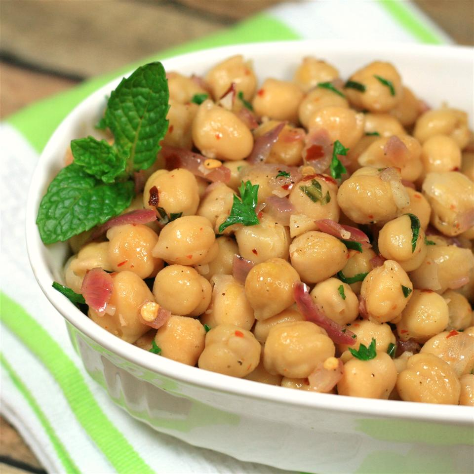 Easy Warm Chickpea Salad France C